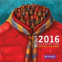 Le calendrier scout 2016 est arrivé!
