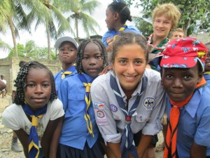 Action des scouts de Montréal à Haïti depuis 5 ans