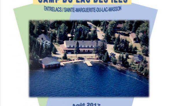 Lancement des opérations - Camp du Lac des Îles