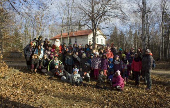 Village du père Noël – Merci à tous les bénévoles