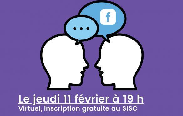 Webinaire : Maximiser les échanges sur Facebook