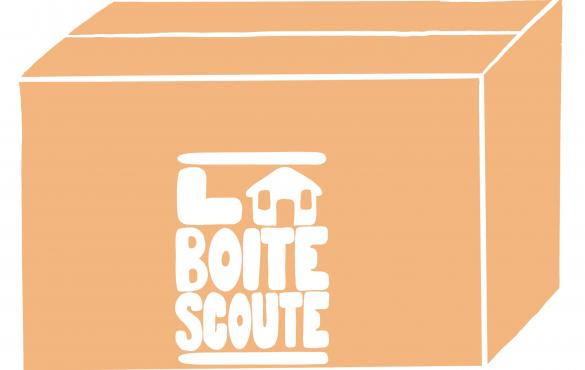 Cherche et trouve La Boite scoute