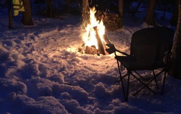 Camping d'hiver à Cap-Pelé