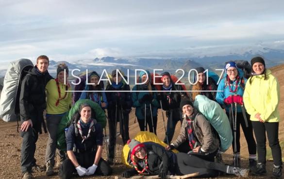 Pionnières du 12e Groupe Déziel en Islande!