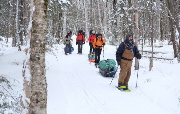 Formation camping d'hiver léger 2020
