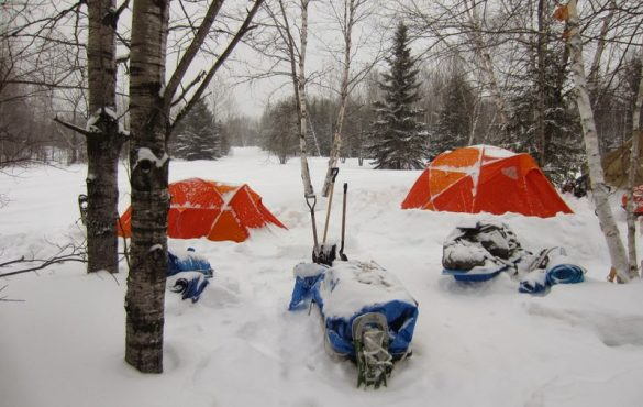 Formations en scoutisme d'hiver
