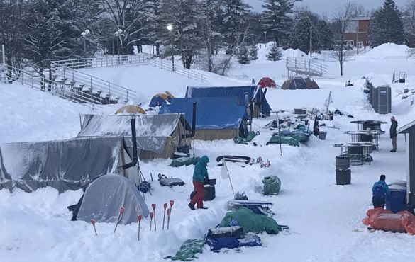 22e Camporee d'hiver