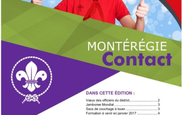 Montérégie Contact – Décembre