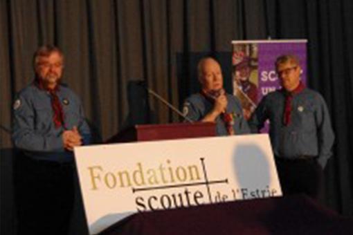 Un demi-million remis aux scouts grâce à la Fondation scoute de l'Estrie !