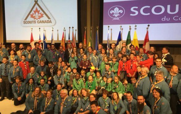 Scouts sur la colline- mission accomplie !