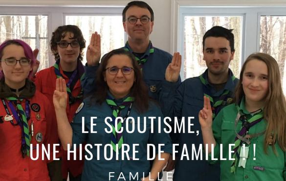 Louis Guillemette et Isabelle Goyette : Ingénieurs le jour, bénévoles et parents de 4 scouts le soir.