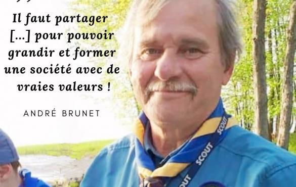 André Brunet, de l'atelier d'ébénisterie à la création d'activités scoutes