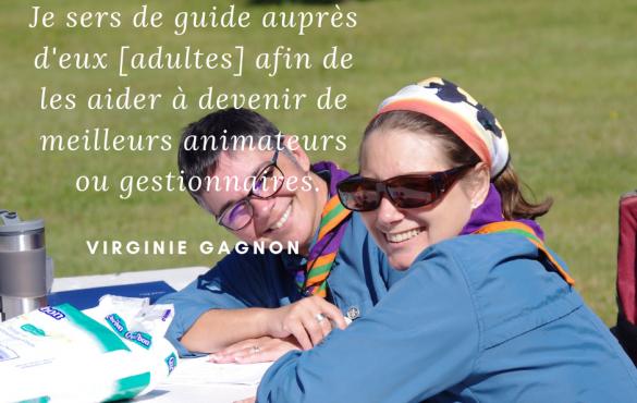 Virginie Gagnon : quand la passion rime avec formation !