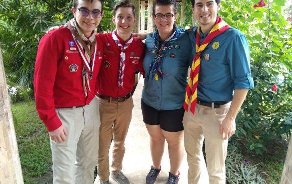 Une scout de chez nous participe à la Formation interaméricaine au leadership au Panama !