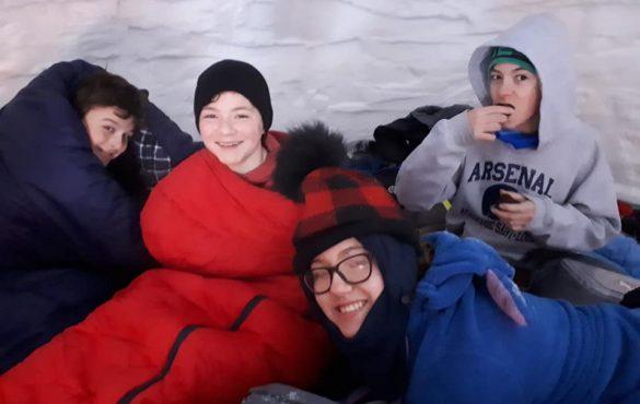 Dormir à -33°C dehors !!! Pourquoi pas ?