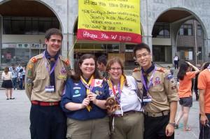 Forum des Jeunes Scouts Mondial, Corée du Sud, 2008