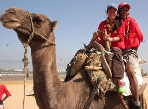 La 122e au Maroc