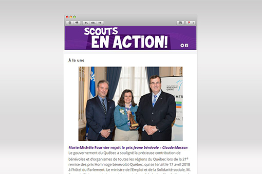 Scouts en Action : Mai 2018