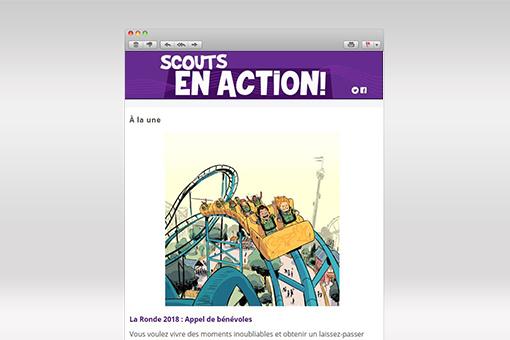Scouts en Action : Juin 2018