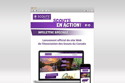 Scouts en Action : Infolettre spéciale