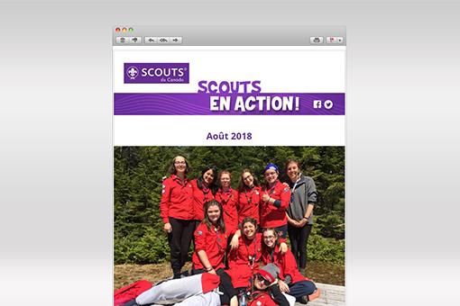 Scouts en Action : Août 2018
