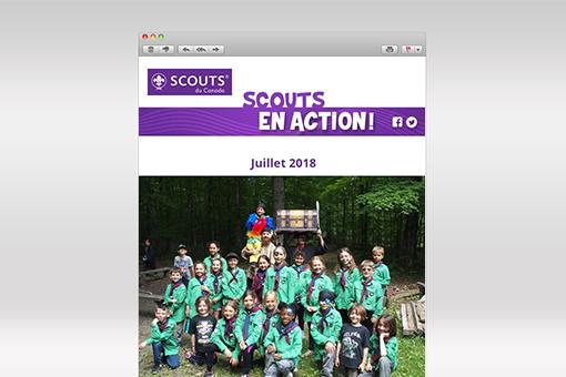 Scouts en Action : Juillet 2018