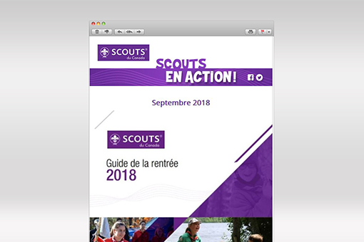 Scouts en Action : septembre 2018