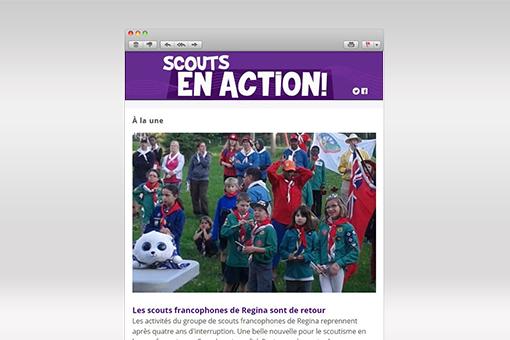 Scouts en Action : Février 2018