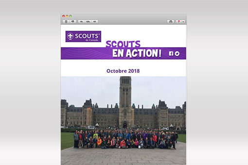 Scouts en Action : octobre 2018