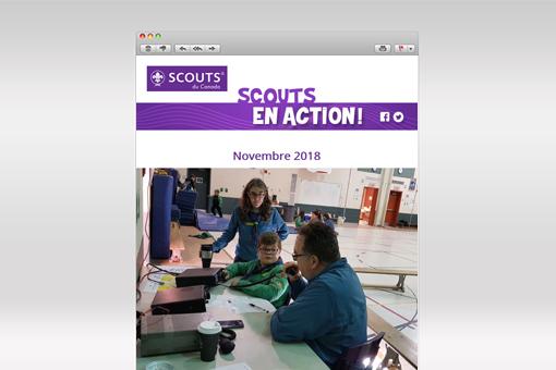 Scouts en Action : Novembre 2018