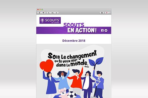 Scouts en action : décembre 2018