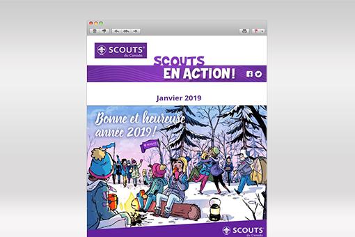 Scouts en Action : janvier 2019