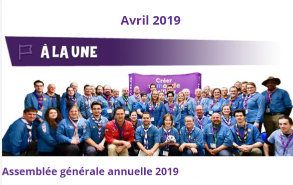 Scouts en Action : Avril 2019