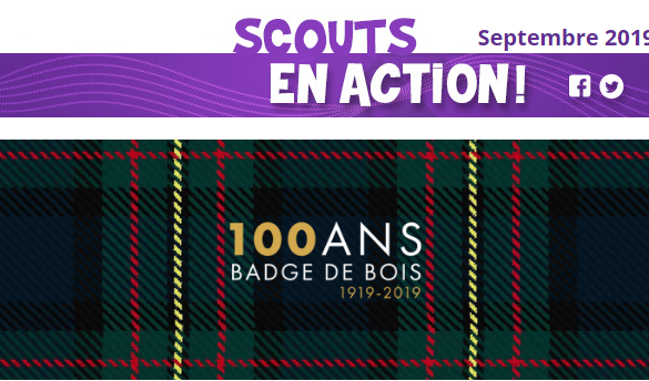 Scouts en action – Septembre 2019