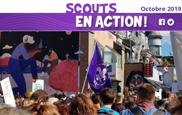 Scouts en action – Octobre 2019