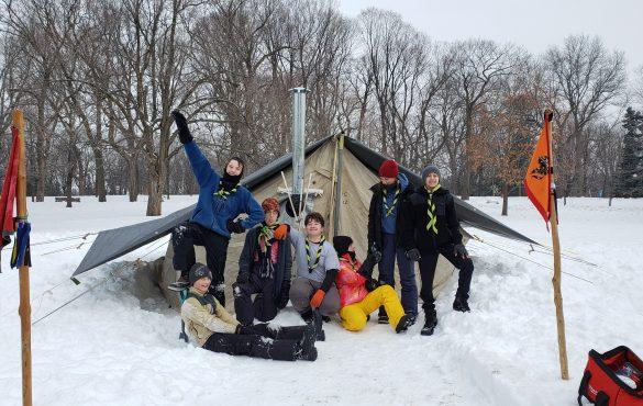 Les scouts représentés à la Célébration hivernale 2020 de Rideau Hall