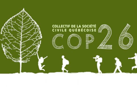 Participe à la COP26 pour la justice climatique