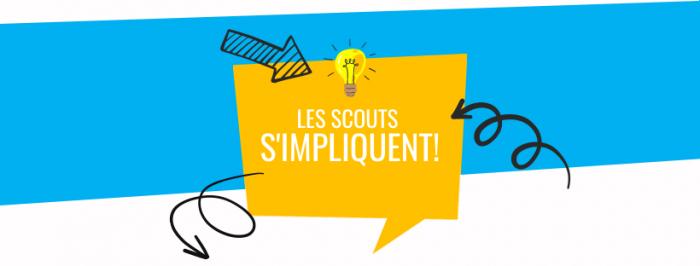 Scouts du Canada - Logo du Programme Les Scouts s'impliquent dans leur communauté