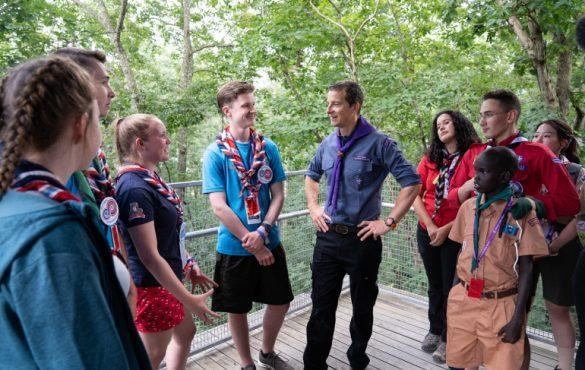 Bear Grylls renouvelle son mandat d'ambassadeur du scoutisme mondial