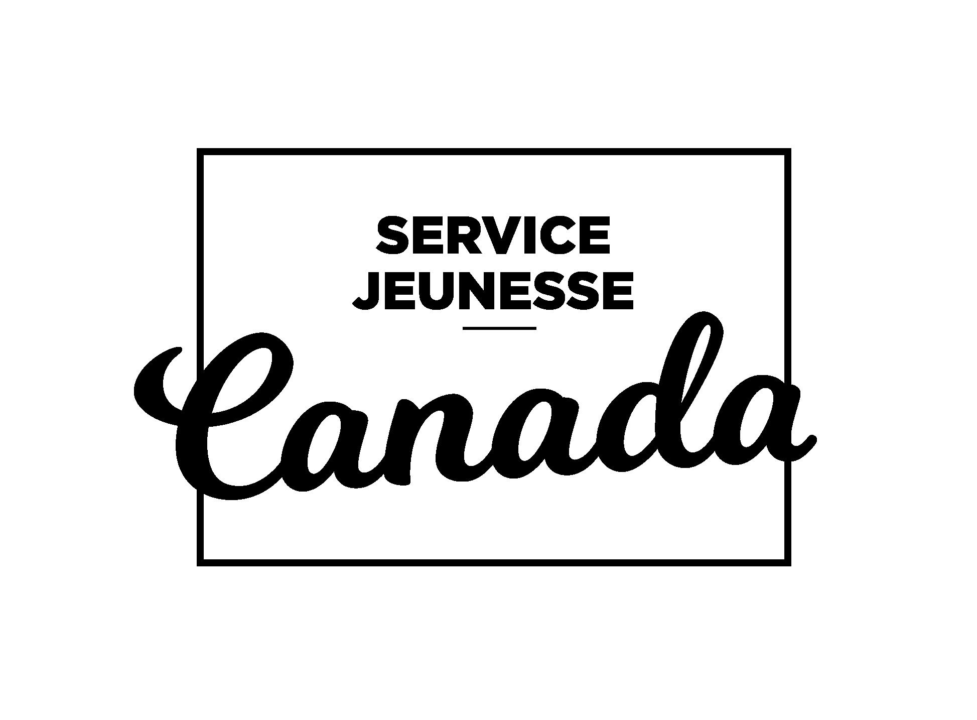 Logo du Gouvernement du Canada - Financé par le programme Service Jeunesse Canada