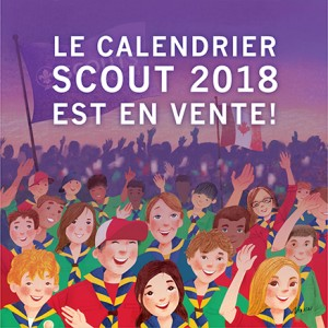 Calendrier Scout 2018