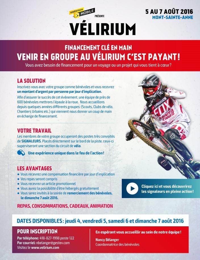 Vélirium Mont-Sainte-Anne du 5 au 8 août 2016